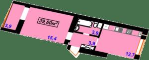 Гімназійний 3-39,80