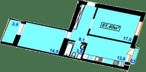 Гімназійний 4-61,40